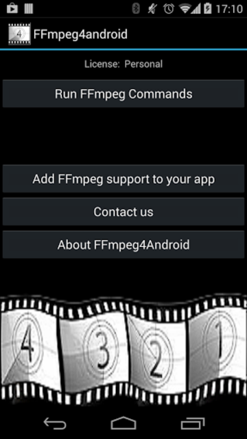 FFmpeg 4 Android screenshot 1