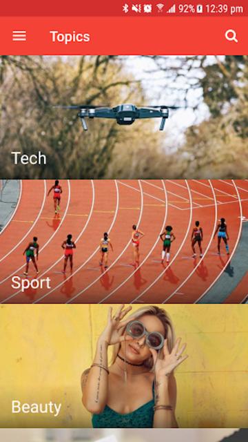 Ultimate News App Template screenshot 4