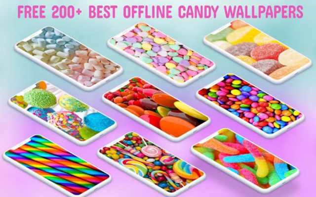 Candy Wallpaper HD screenshot 1