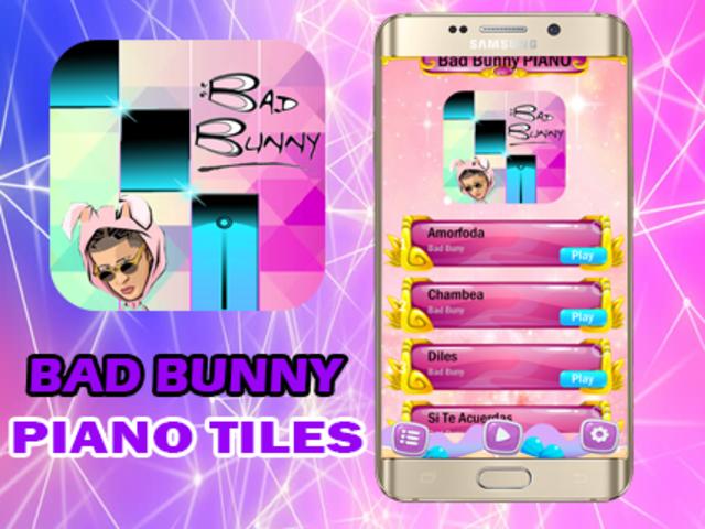 Bad Bunny Piano Magic screenshot 3