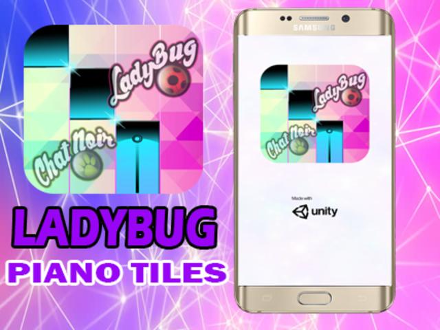 Ladybug Catnoir Piano Magic screenshot 1