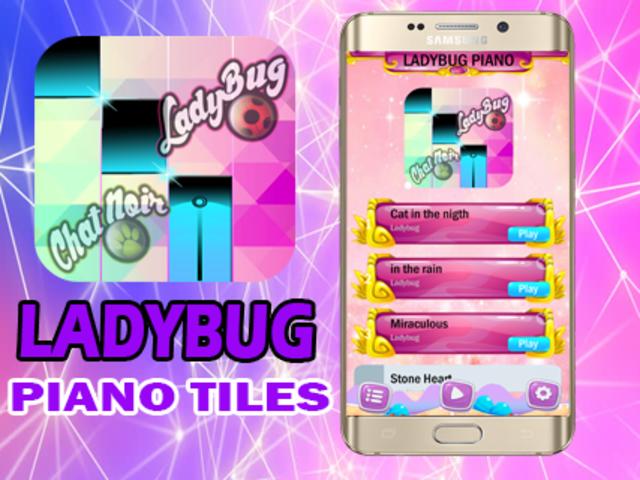Ladybug Catnoir Piano Magic screenshot 2