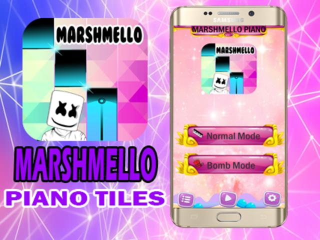 Marshmello Piano Tiles screenshot 3