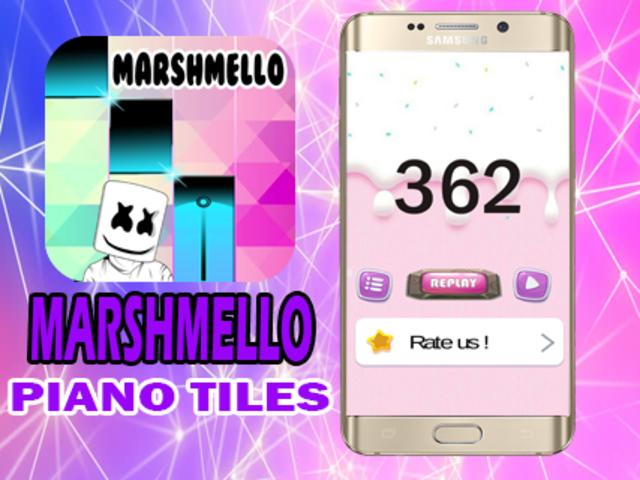 Marshmello Piano Tiles screenshot 4