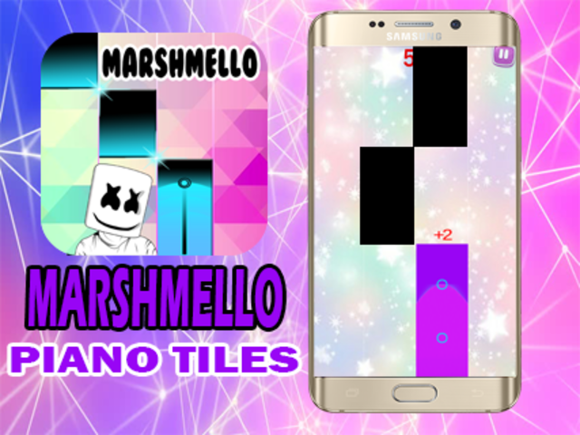 Marshmello Piano Tiles screenshot 5