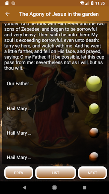 Novena to Our Lady Undoer of Knots - FULL screenshot 2