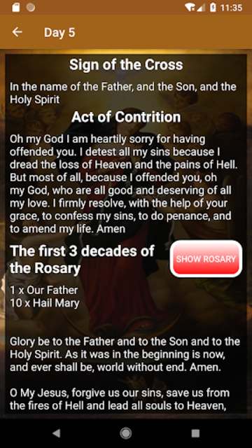Novena to Our Lady Undoer of Knots - FULL screenshot 4
