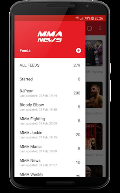 MMA News Pro screenshot 2