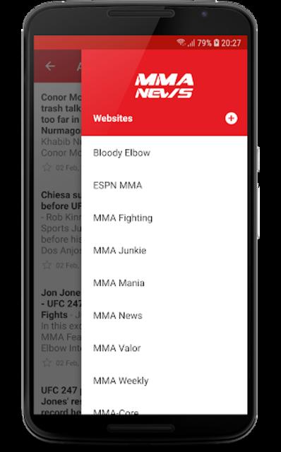 MMA News Pro screenshot 3