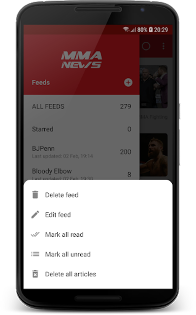 MMA News Pro screenshot 5