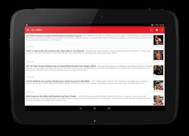 MMA News Pro screenshot 9