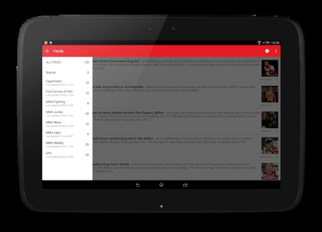 MMA News Pro screenshot 10