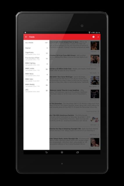 MMA News Pro screenshot 13