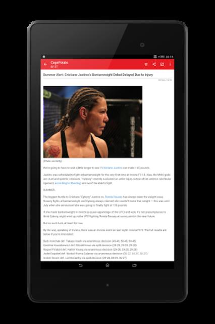 MMA News Pro screenshot 14