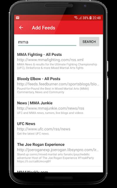 MMA News Pro screenshot 6