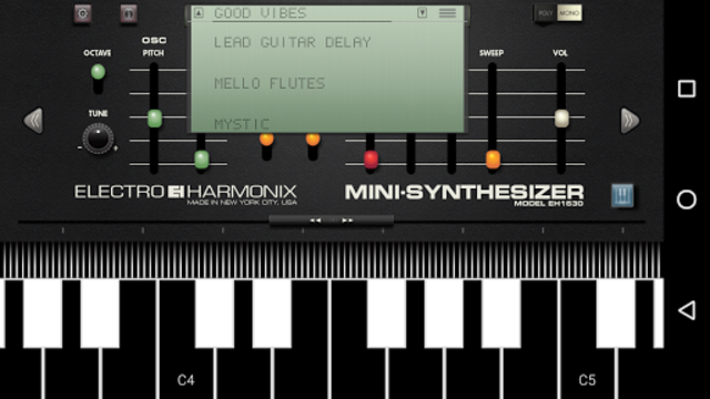 Mini Synthesizer for Phone screenshot 3
