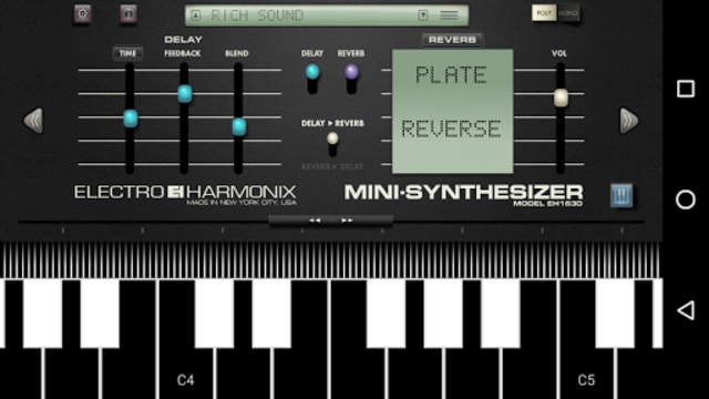 Mini Synthesizer for Phone screenshot 4