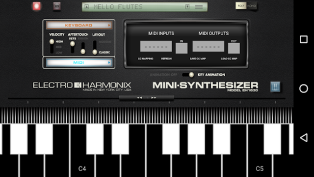 Mini Synthesizer for Phone screenshot 5