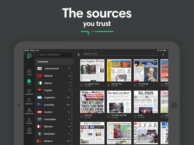 PressReader screenshot 10