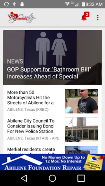 KTAB KRBC News - BCH to Go screenshot 1
