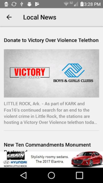 KLRT Fox 16 News Fox16.com screenshot 2