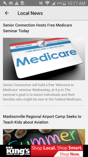 Tristate on the Go - WEHT WTVW screenshot 3
