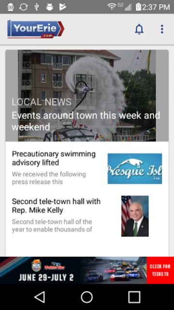 YourErie 2Go - WJET WFXP News screenshot 1