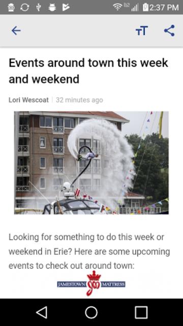 YourErie 2Go - WJET WFXP News screenshot 3
