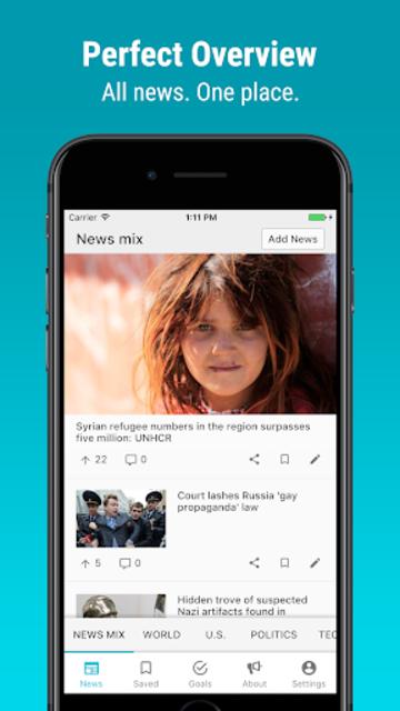 Newsvoice - Free unbiased news screenshot 3