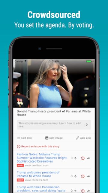 Newsvoice - Free unbiased news screenshot 5