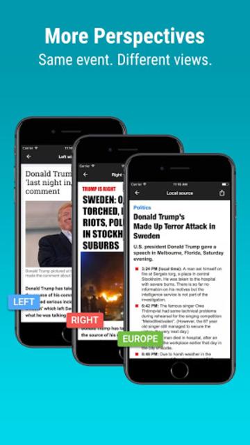 Newsvoice - Free unbiased news screenshot 4