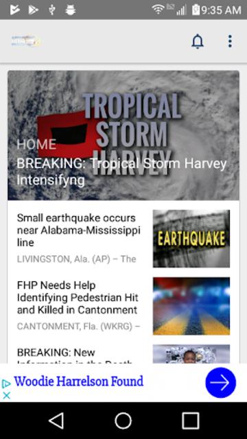 WKRG News 5 - Mobile Pensacola screenshot 1