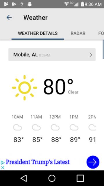 WKRG News 5 - Mobile Pensacola screenshot 4