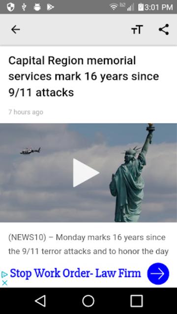 WTEN News10 ABC screenshot 3