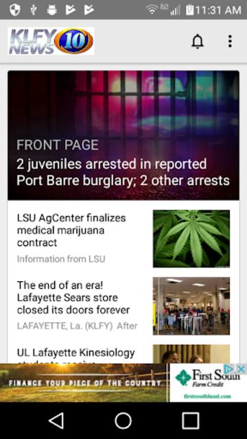 KLFY News 10 screenshot 1