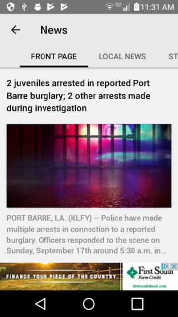 KLFY News 10 screenshot 2