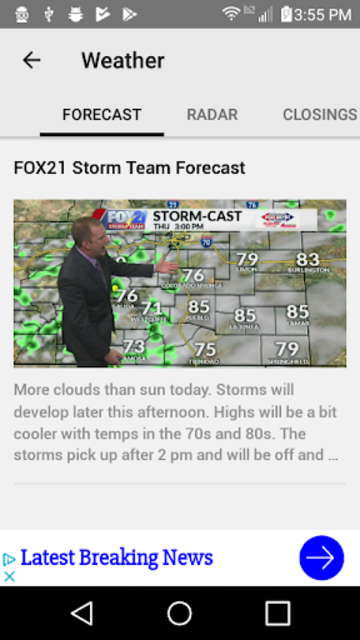FOX21 News | KXRM screenshot 4