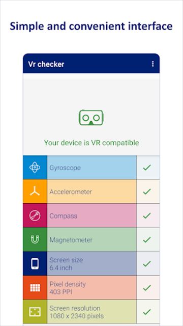 VR checker - virtual reality compatibility test screenshot 2