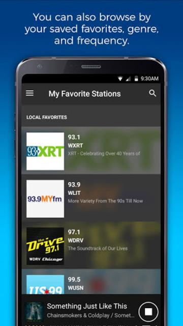 NextRadio Free Live FM Radio screenshot 2