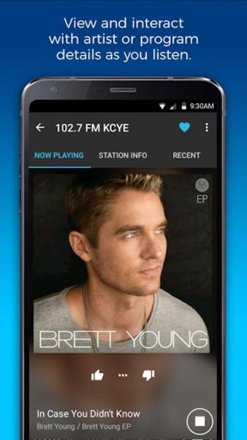 NextRadio Free Live FM Radio screenshot 3