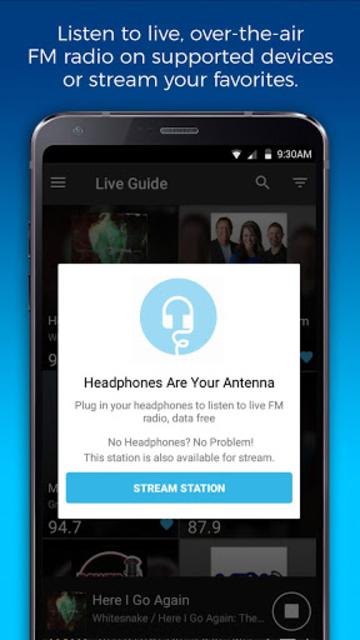 NextRadio Free Live FM Radio screenshot 6