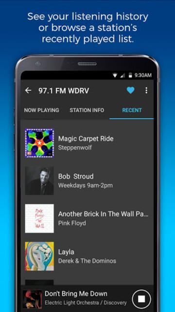 NextRadio Free Live FM Radio screenshot 8
