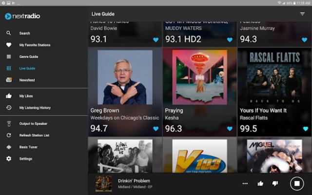 NextRadio Free Live FM Radio screenshot 13