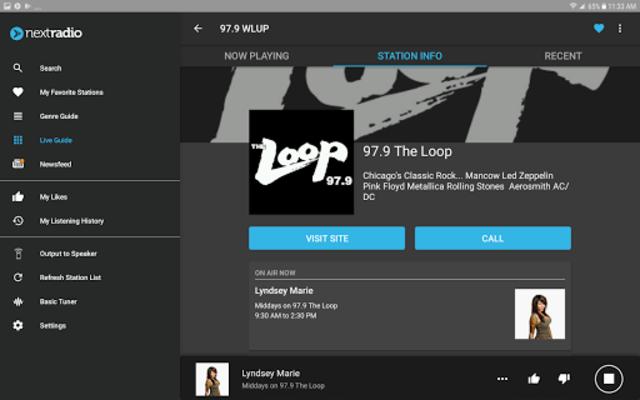 NextRadio Free Live FM Radio screenshot 16