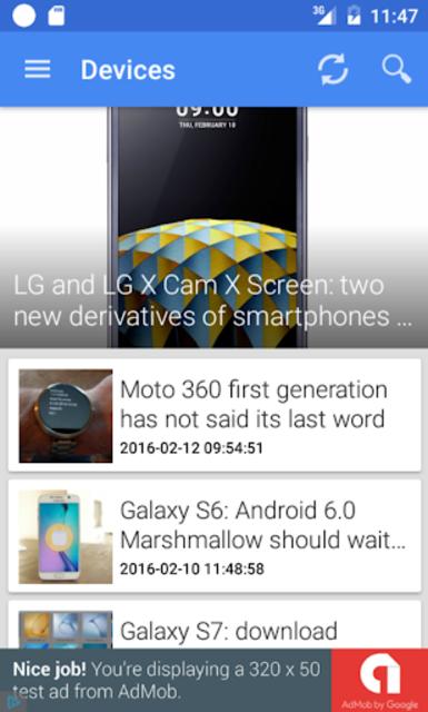 Update Android Version screenshot 2