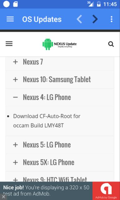 Update Android Version screenshot 3