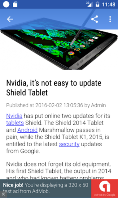 Update Android Version screenshot 4