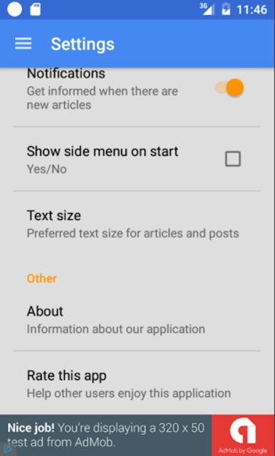 Update Android Version screenshot 5