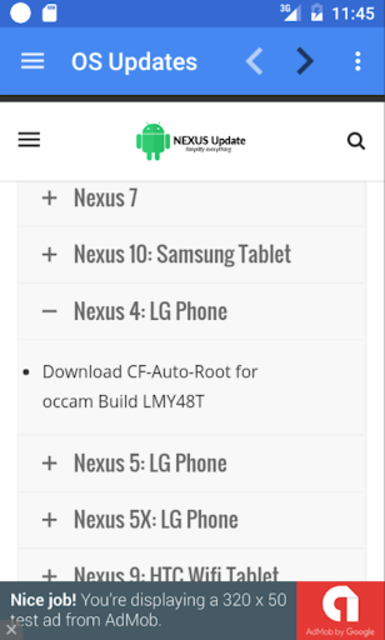 Update Android Version screenshot 19