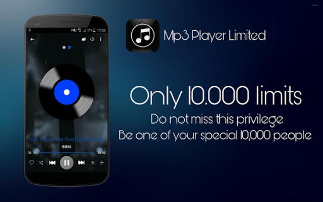 Mp3 player Limited screenshot 1
